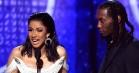 Nå, Cardi B og Offset er vist sammen igen – snaver på Grammys røde løber