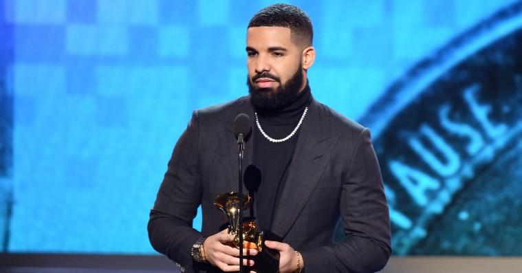 Drake disser Grammys i takketale – så bliver hans tale skåret af