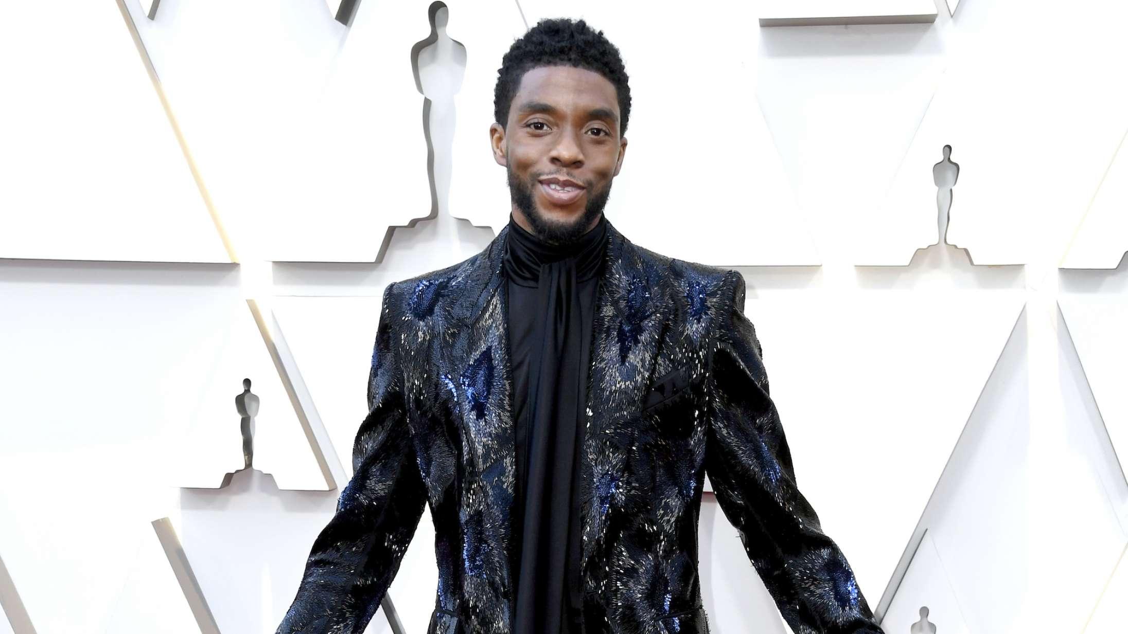 Chadwick Bosemans enke leverer rørende takketale  efter Golden Globe-sejr