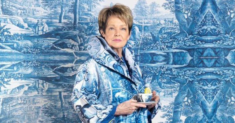 Okay, Ghita Nørbys nye billede er sublim selvironi
