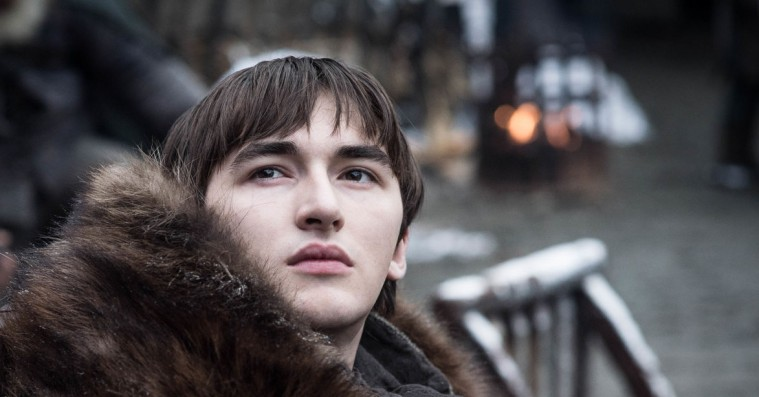 Isaac Hempstead Wright slår fast, at Brans finale i 'Game of Thrones' blev skrevet af George R.R. Martin