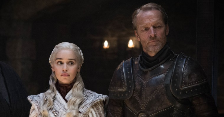 Iain Glen alias Ser Jorah taler ud om de uhørlige, intime linjer, Daenerys hvisker til ham