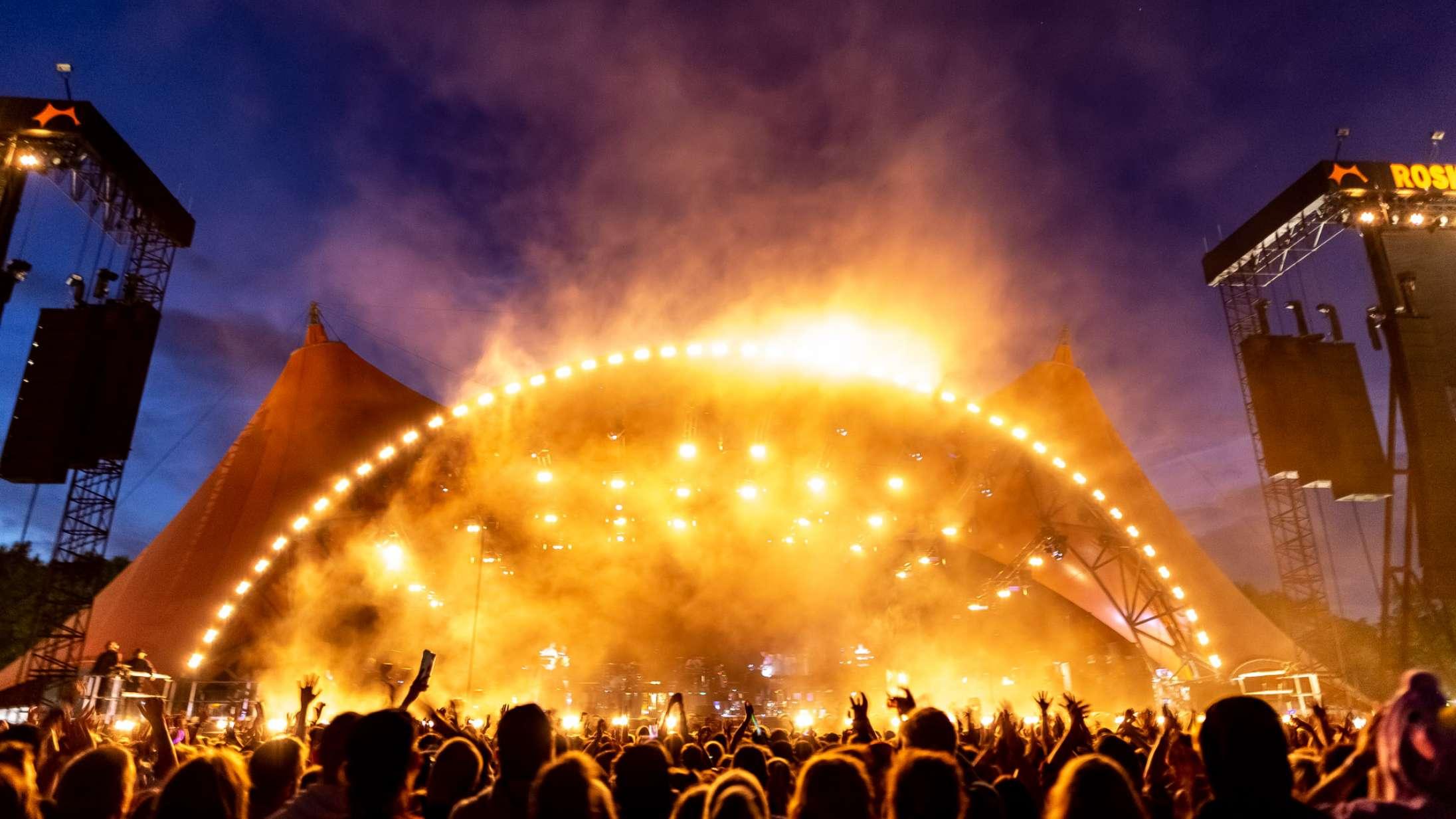 Nej, Roskilde Festival har ikke opgivet rockmusikken