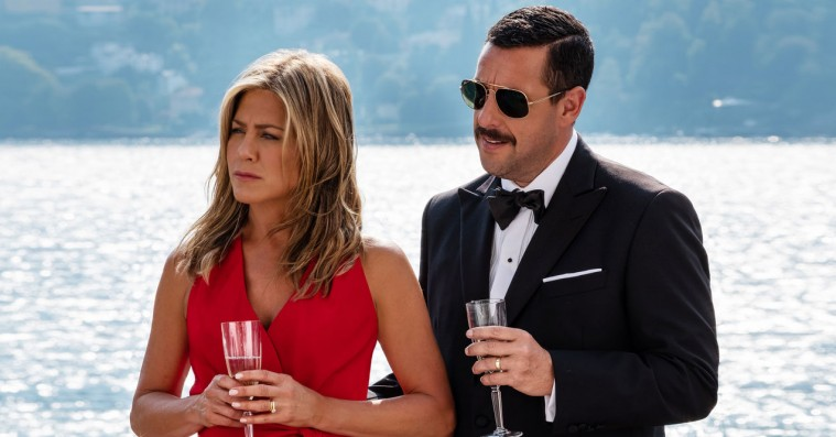 Adam Sandler-komedien 'Murder Mystery' slår seerrekorder ifølge Netflix