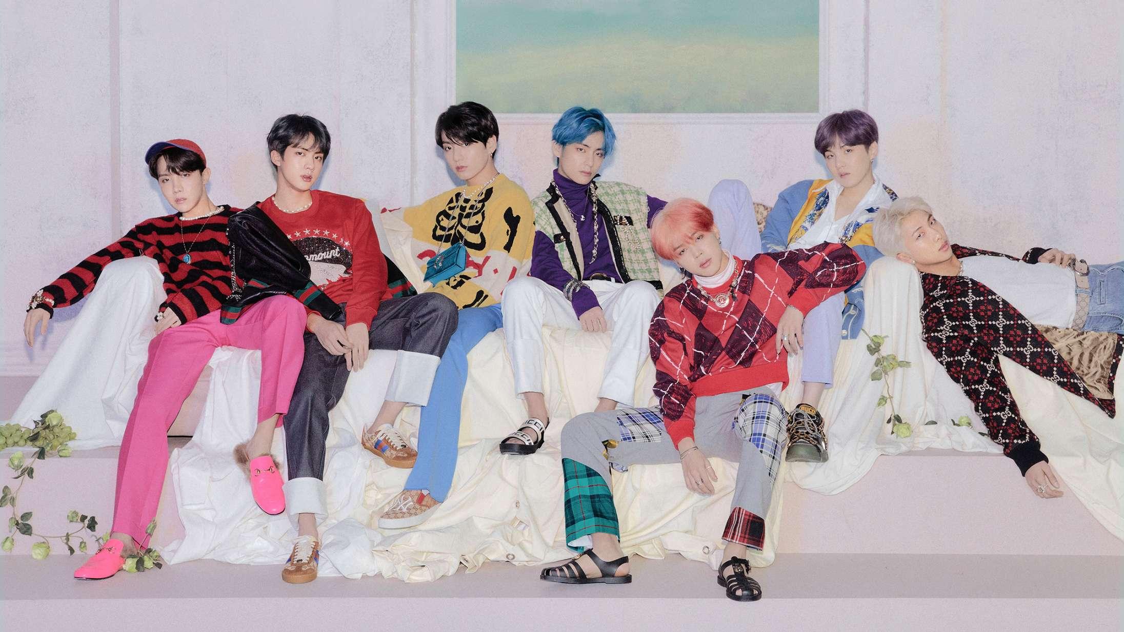 BTS synger om håb i en håbløs tid på 'BE'