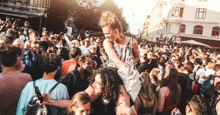 Distortion: Se kort over samtlige gadefester på Nørrebro og Vesterbro