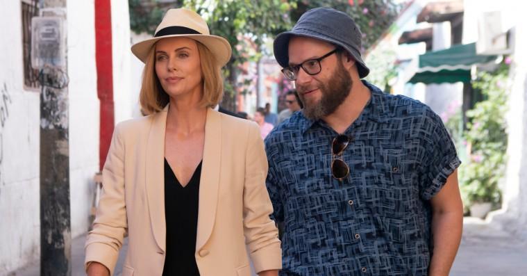 'Long Shot': Charlize Theron og Seth Rogen vinder på hjertevarme, men taber på relevans