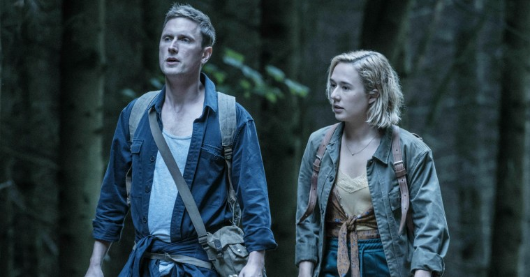 Alba August og Mikkel Boe Følsgaard om 'The Rain' sæson 2: »Det er crazy at have en kæmpe fucking plakat af dit fjæs på Nørreport Station«