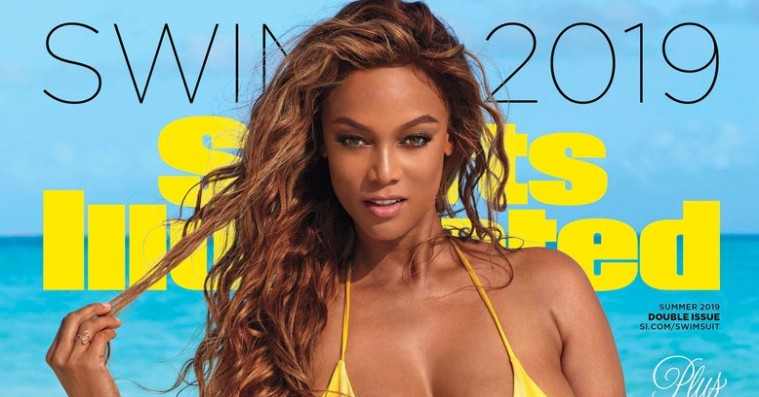 Tyra Banks' Swimsuit Issue-forside er den perfekte opfølger på Helena Christensen-gate