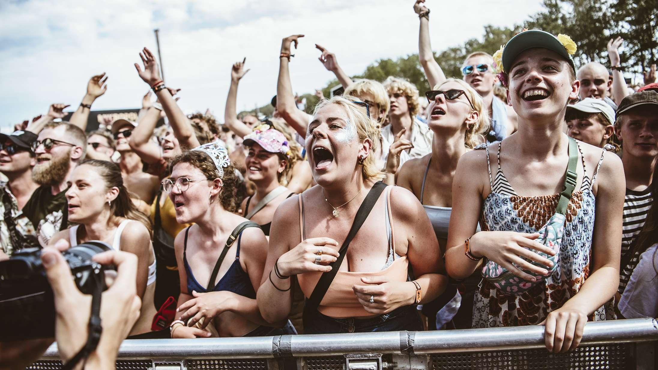 Politikerne har talt: Sommerens store festivaler som Roskilde, NorthSide og Smukfest kan ikke afholdes