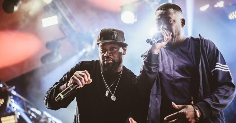 En amputeret Wu-Tang Clan fejlede bravt på Roskilde Festival
