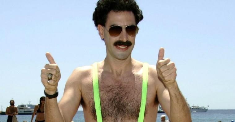 Holder 'Borat' og dens lifligt akavede humor i dag?