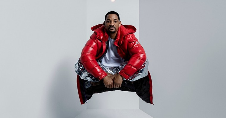 Will Smith springer ud som model for Moncler i sin første modekampagne nogensinde