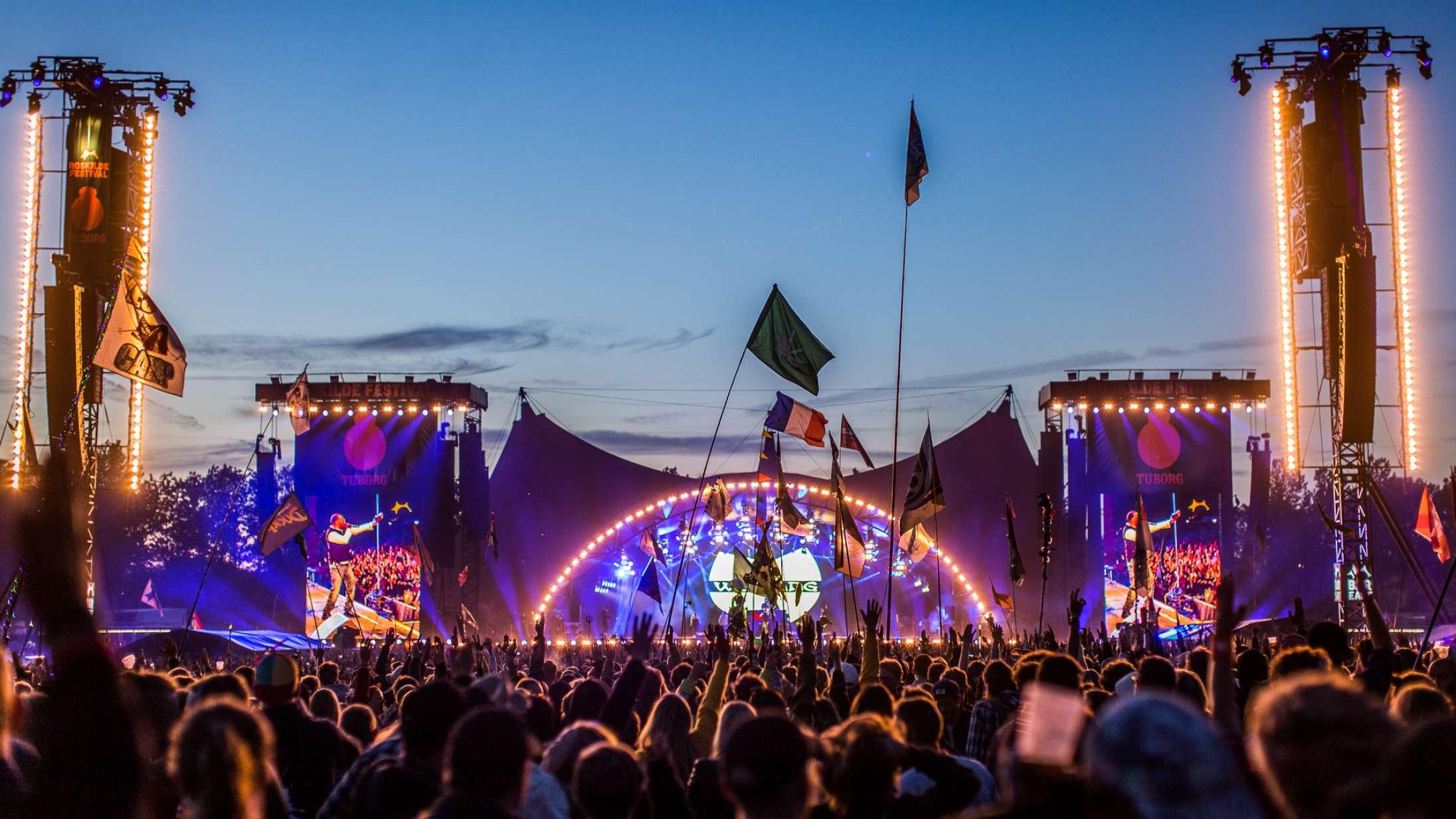 360 grader: Sådan har du aldrig oplevet Roskilde Festival