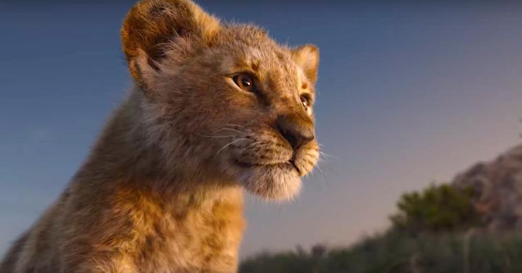Ét skud i den nye 'Løvernes konge' er ægte