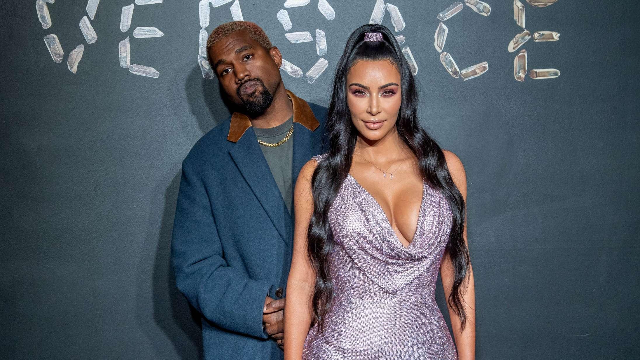 Efter anklager om utroskab: Kim Kardashian kommenterer Kanye Wests mentale helbred