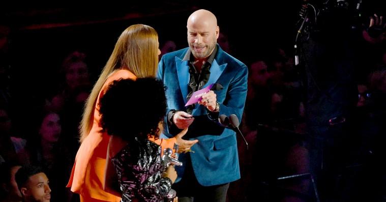 John Travolta forvekslede Taylor Swift med 'RuPaul's Drag Race'-deltager under MTV Music Video Awards