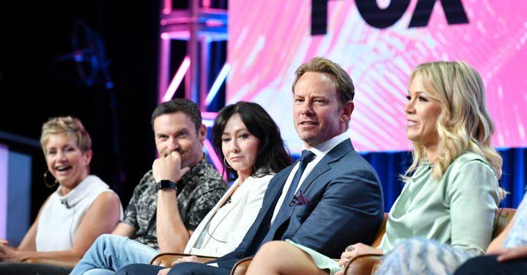 'Beverly Hills 90210'-stjernerne fik en overraskende lav løn for det nye reboot