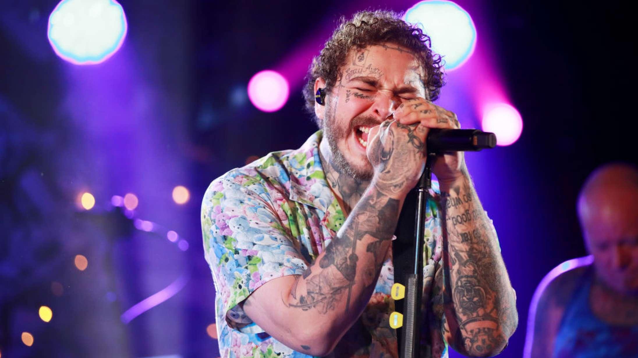 Se Post Malones distortionbrag af en Nirvana-hyldest