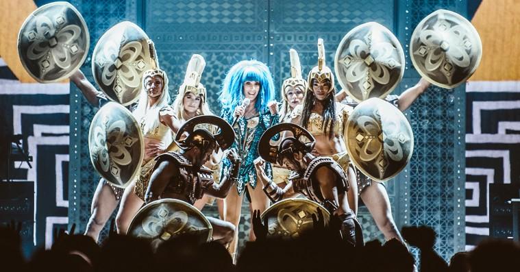Cher skabte et charmerende kaos i Royal Arena