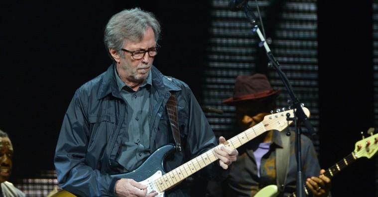 Eric Clapton kommer til Danmark