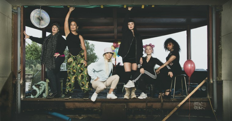 Danske kvindelige rappere går sammen om fælleskoncert: »River lortet i stykker og svarer: Her er vi!«