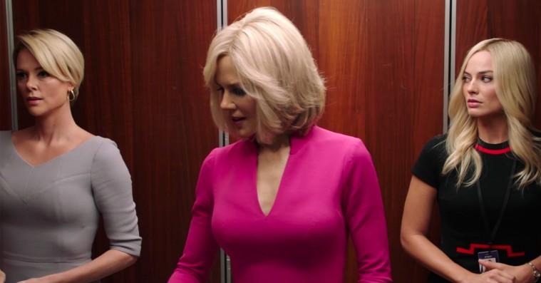 Charlize Theron og Margot Robbie vælter sig i Oscar-buzz efter 'Bombshell'-visning