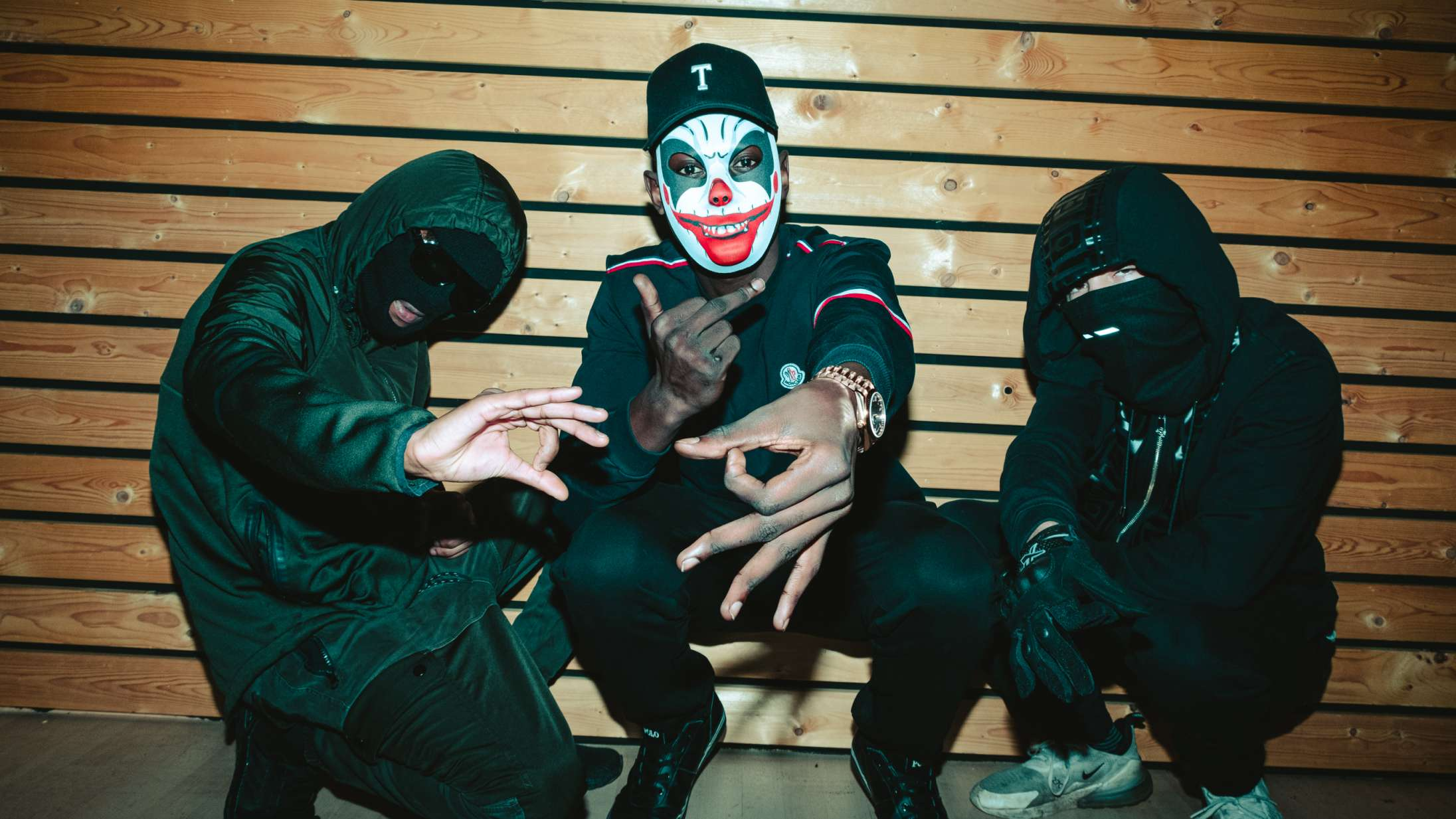 Få din 'Mask på': Nu tager Shooter Gang på turné