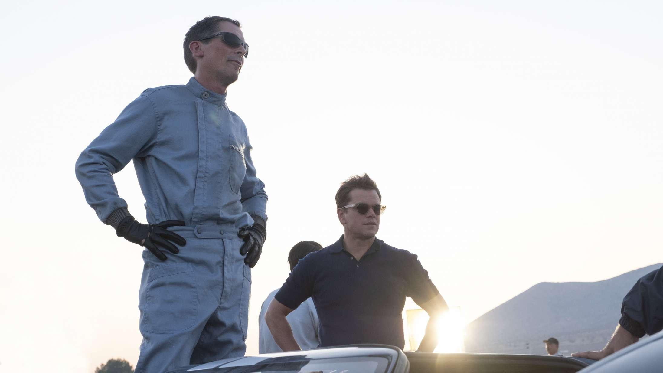 'Le Mans '66': Christian Bale og Matt Damons bilbromance er et friskt pust af den gamle skole