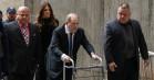 Harvey Weinstein fastholder sin uskyld efter dommen – indlagt med smerter i brystet