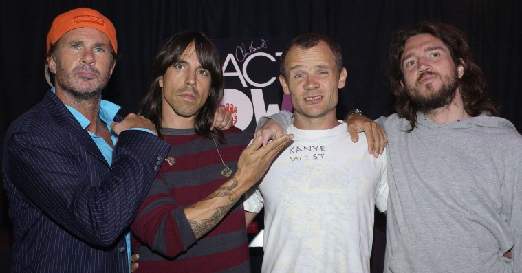 Red Hot Chili Peppers genforenes med guitarist John Frusciante