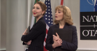 Mette Frederiksen parodieres i 'SNL'-sketch med Paul Rudd, Jimmy Fallon og James Corden