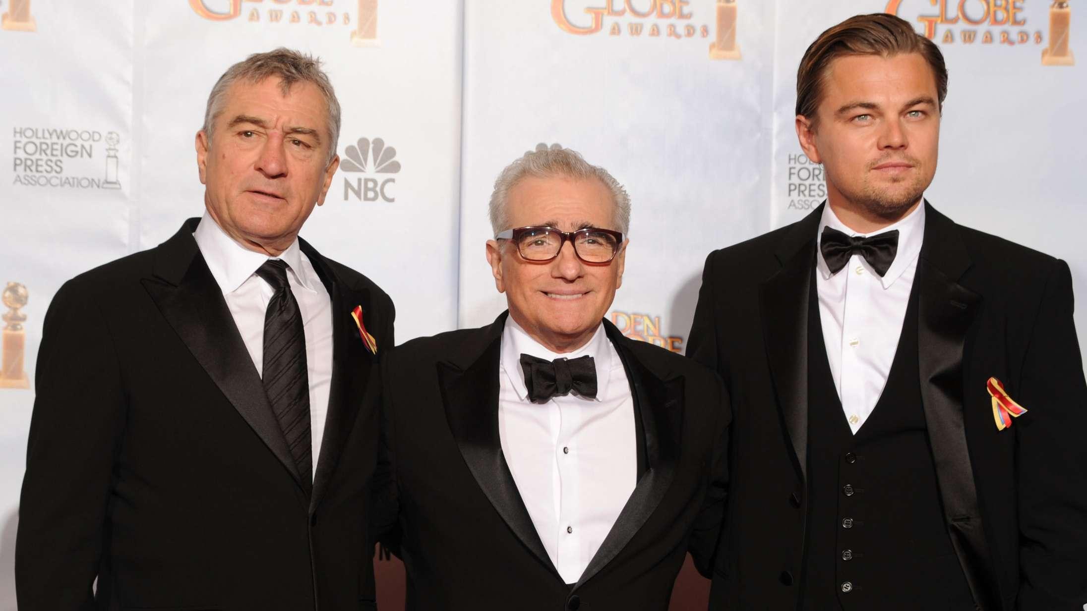 Apple redder Martin Scorseses svinedyre krimifilm med Leonardo DiCaprio og Robert De Niro