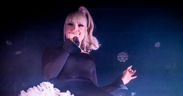 Over-the-top popdivaen Kim Petras sang sit hjerte ud i Vega