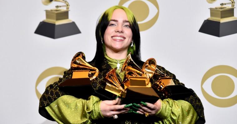 Billie Eilish dominerede nattens Grammy Awards – se alle vinderne