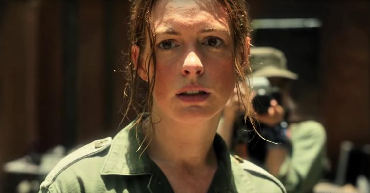 Anne Hathaway hvirvles ind i våbenhandel i traileren til Dee Rees' 'The Last Thing He Wanted'