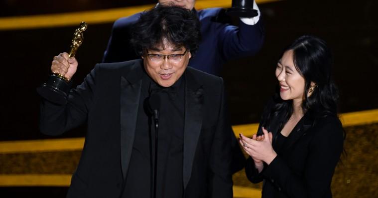 Bong Joon-hos tolk arbejder på sin egen film inspireret af awardsæsonen