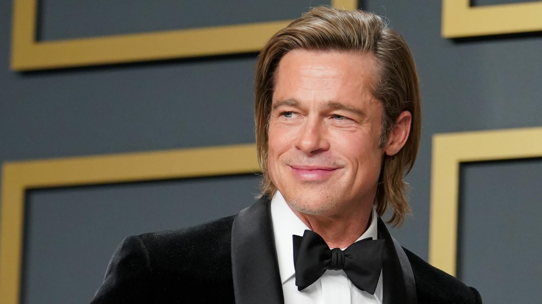 Brad Pitt afslører hemmeligheden bag sine underholdende takketaler