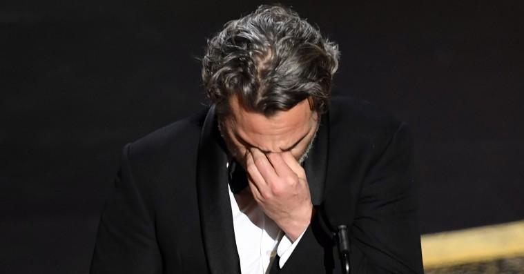 Joaquin Phoenix i Oscar-vindertale: »Jeg har været selvisk, ond og svær at arbejde med«