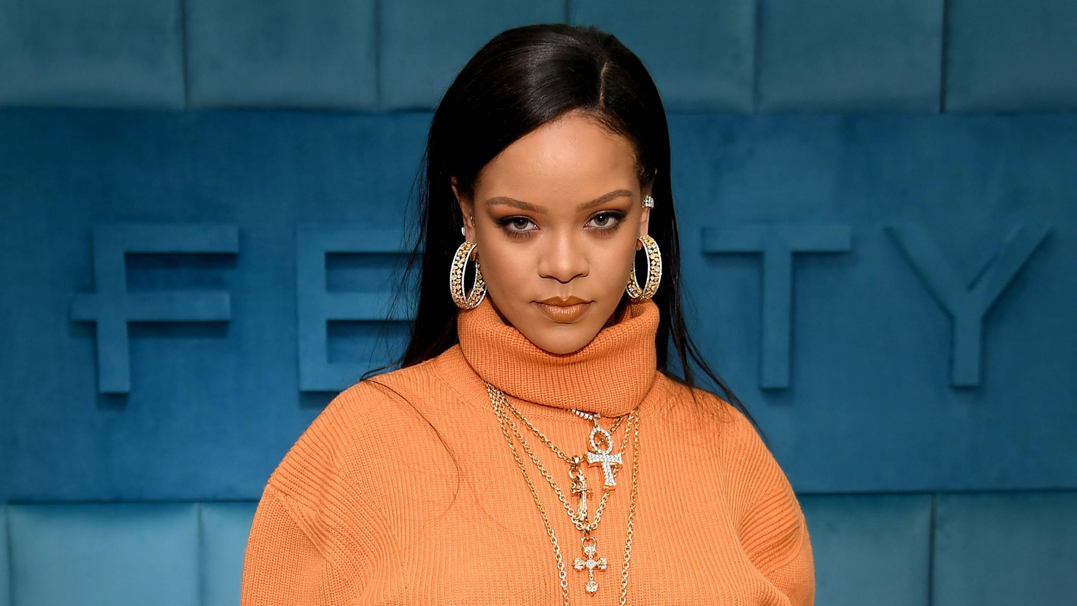 Rihanna afslører sine planer for Valentinsdags – skal i studiet med Pharrell