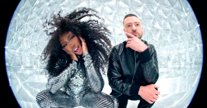 SZA og Justin Timberlake deler ny popbasker med discoficeret video: 'The Other Side'