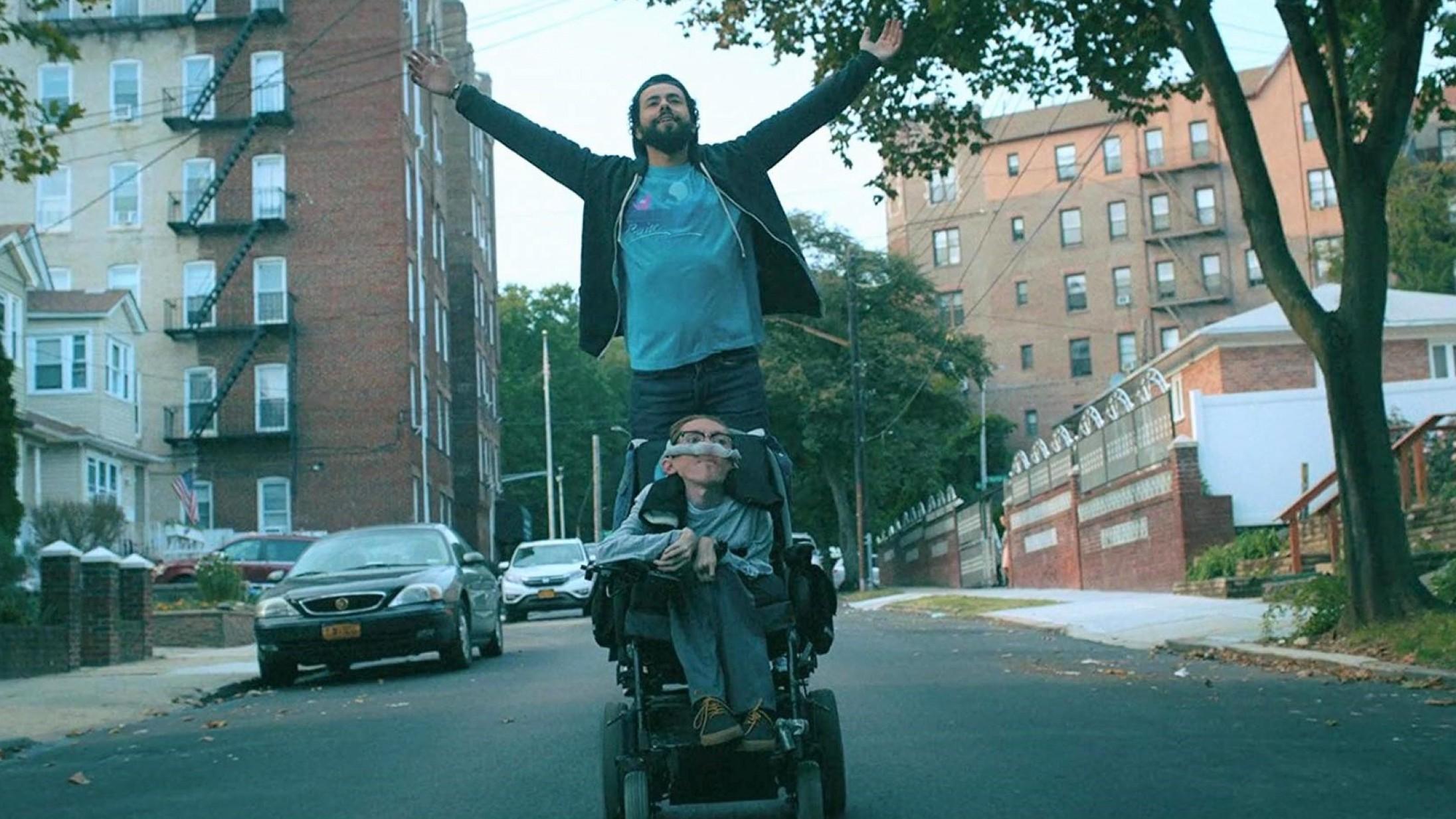 Danskerne tøver, amerikanerne rykker: Handicappede spiller handicappede på tv