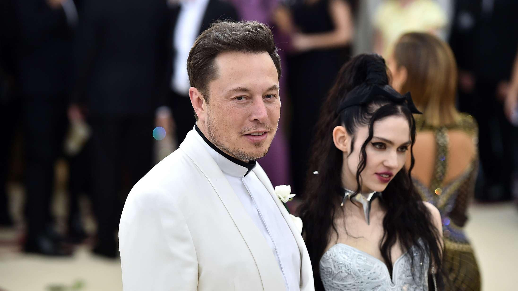 Grimes og Elon Musk er gået fra hinanden