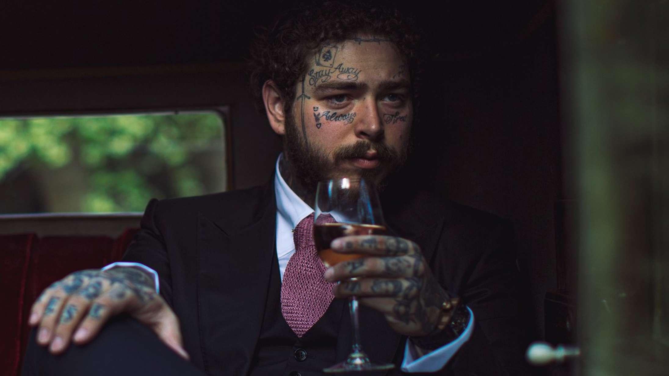 Skål: Post Malone har fået sin egen rosévin