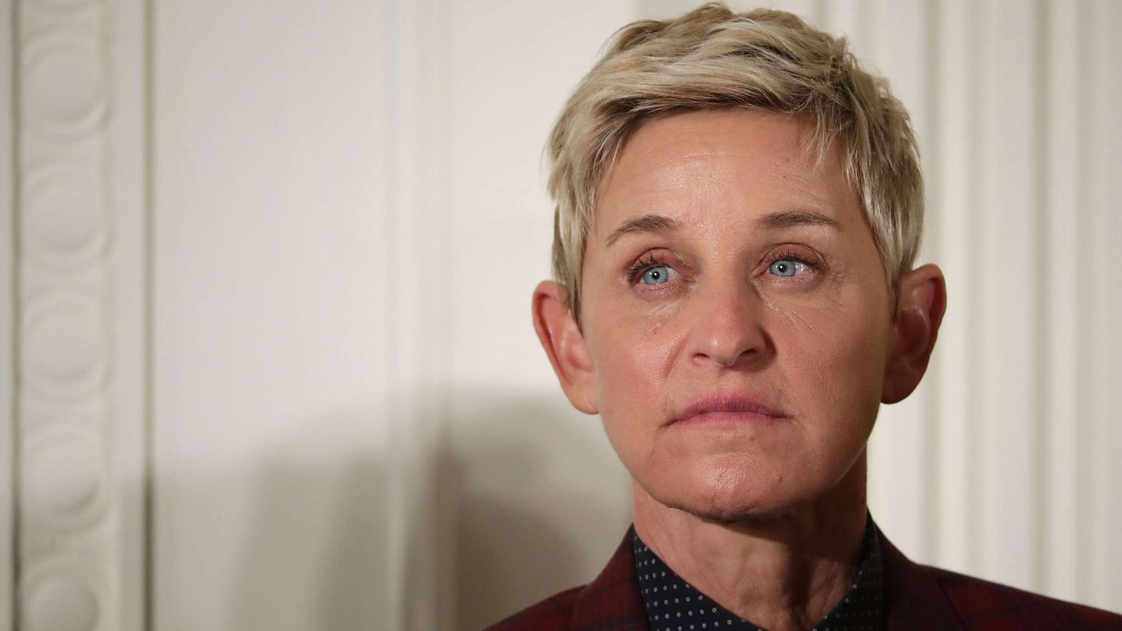 Ellen taler ud efter anklager om racisme og chikane bag kulissen på 'The Ellen DeGeneres Show'