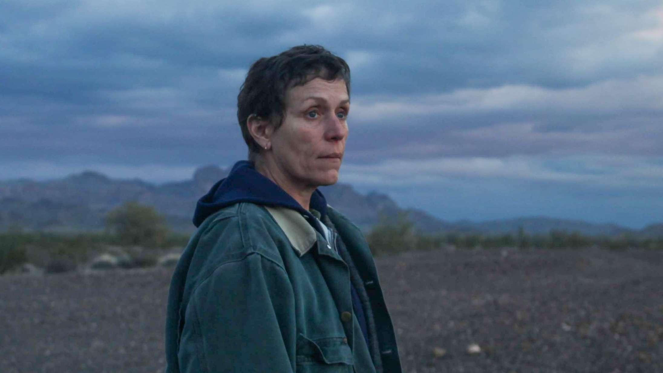 'Nomadland' med Frances McDormand vinder årets vigtigste filmpris