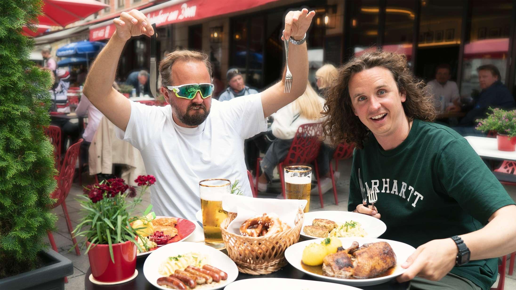 'Brødrene Ost': Millang-brødrenes rejseserie på TV 2 er fornøjelig og overfladisk