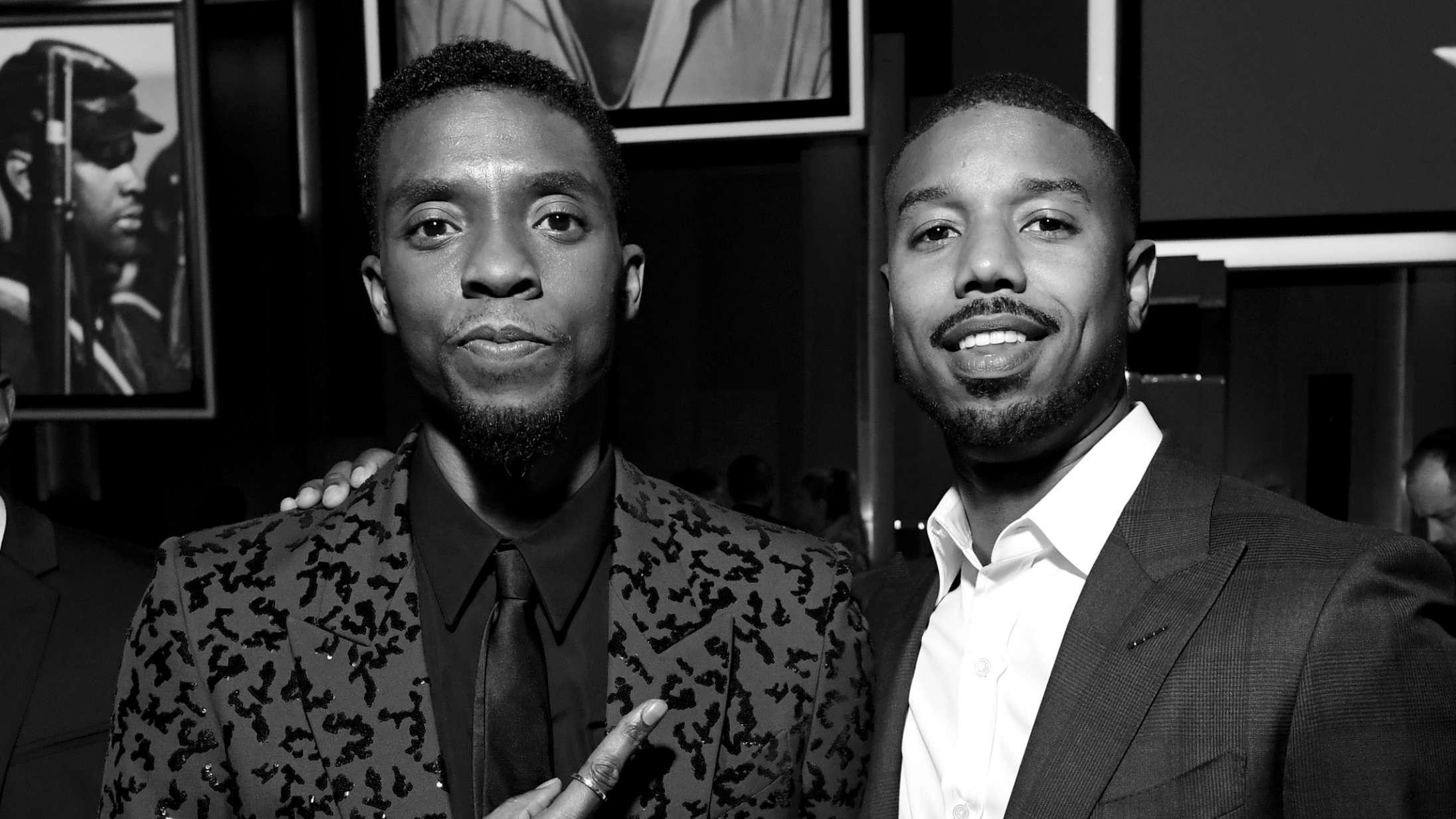 Michael B. Jordan deler mindeord om Chadwick Boseman: »Jeg dedikerer resten af mine dage til at leve, som du levede«