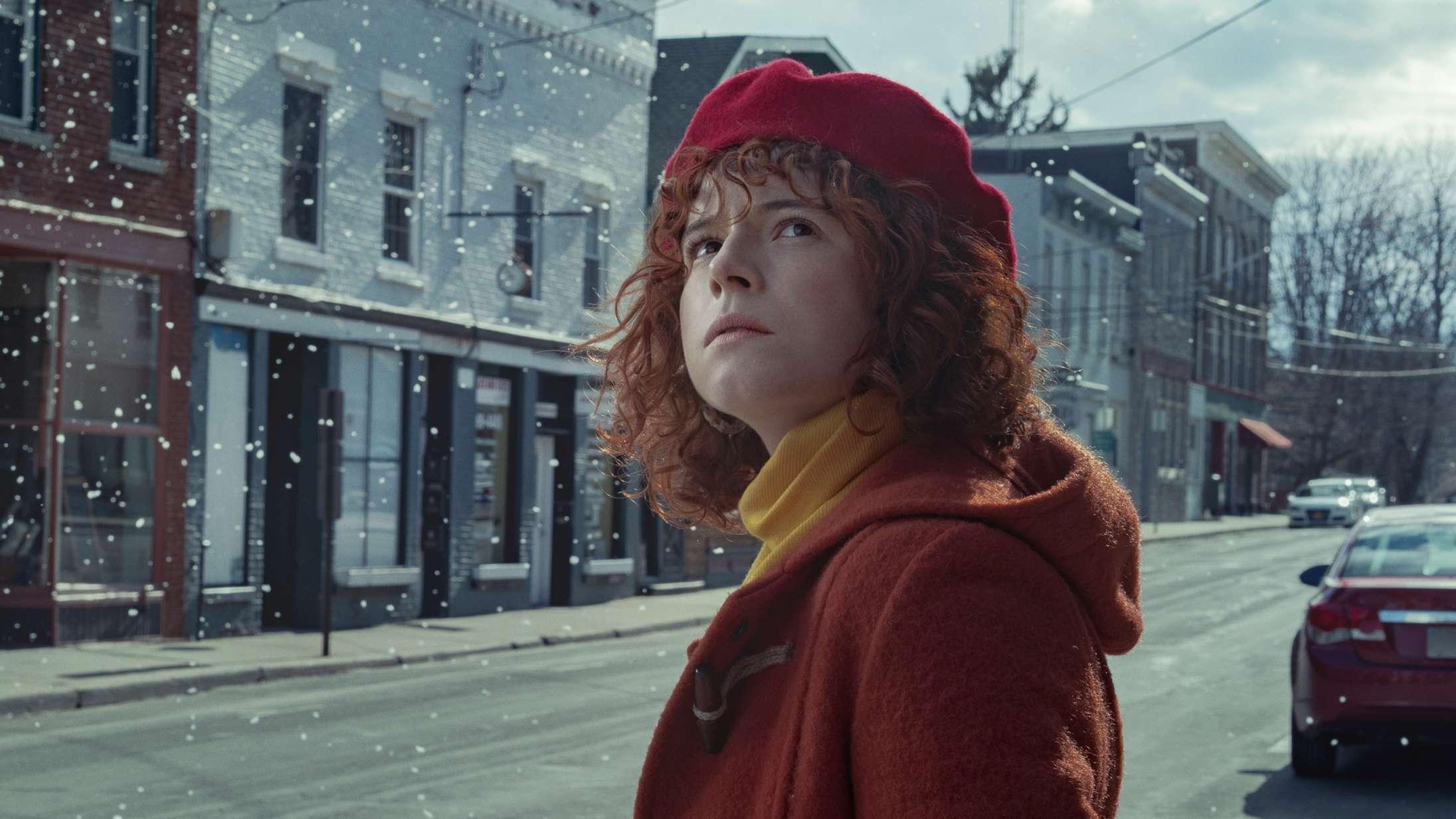 'I'm Thinking of Ending Things': Jessie Buckley brillerer i Charlie Kaufmans vanvidslabyrint på Netflix