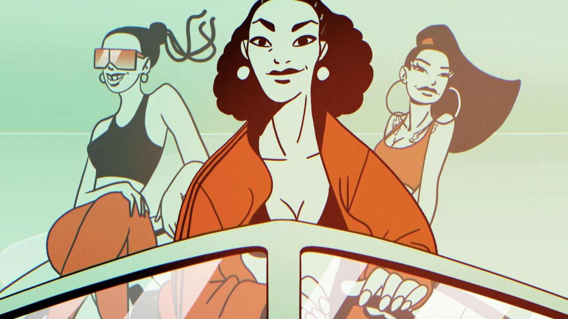 Natasja, Tessa og Mukupa rydder op i branchen i videoen til 'Til banken'
